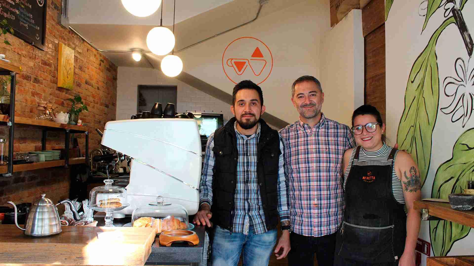 Neretta Café y Gelato: el maridaje perfecto
