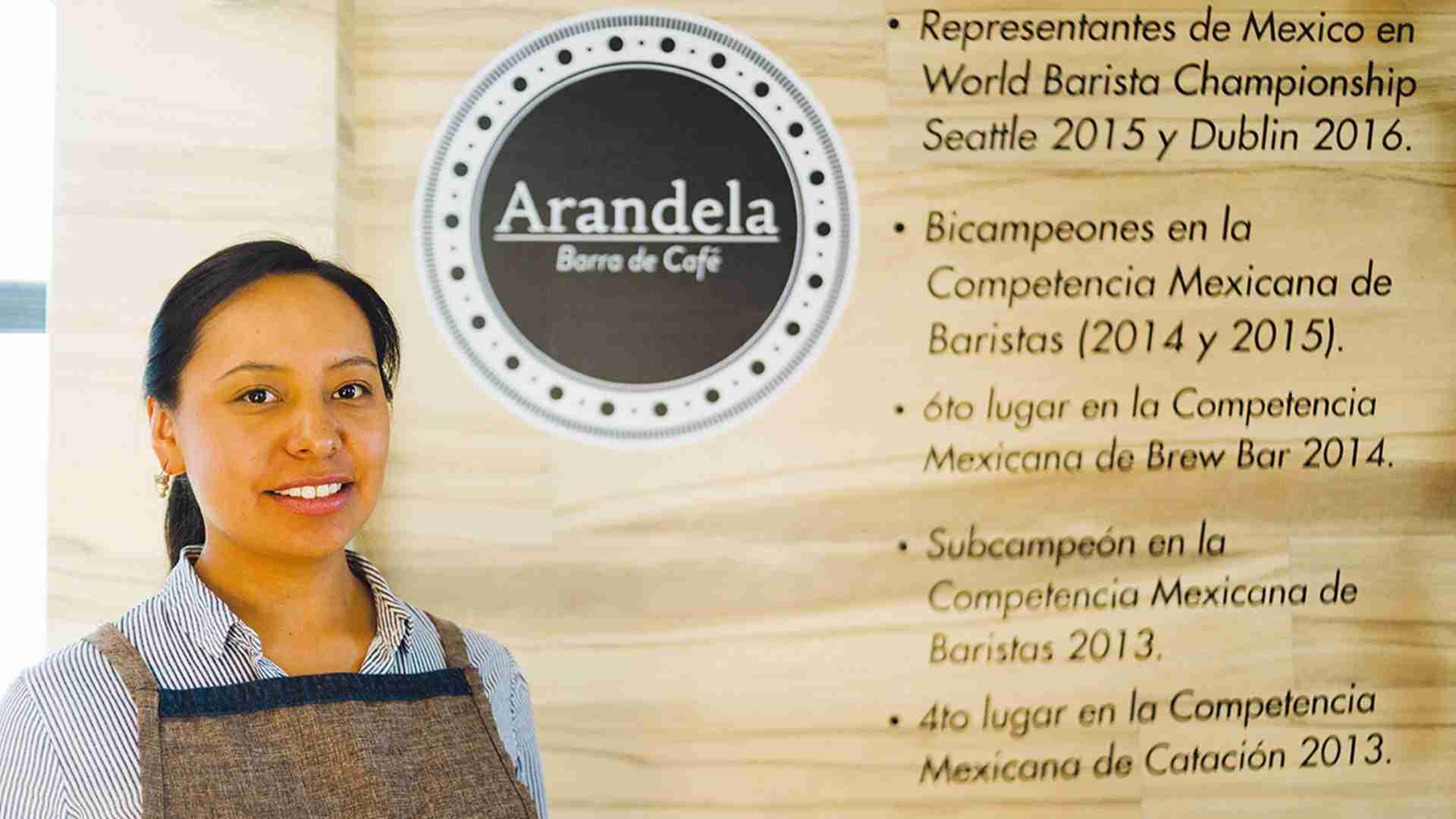 Arandela Barra de Café: sabor de campeonato