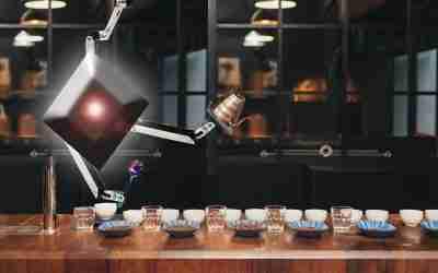 Demetria, un robot que determina la calidad del café