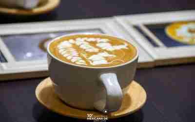 Listo el Team México para la Batalla Latte Art Online Chile 2021