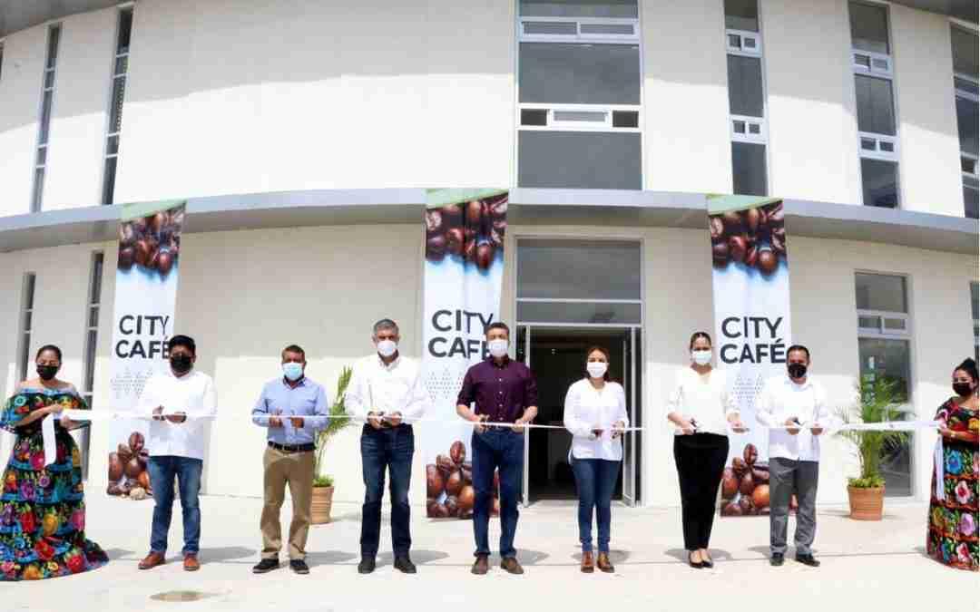 Inauguran en Chiapas City Café, Centro de Innovación y Desarrollo de la Caficultura local