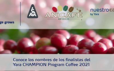 Alistan final de Yara Champion Program Coffee 2021