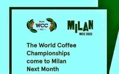 Se acerca el World Coffee Championships Milán 2021